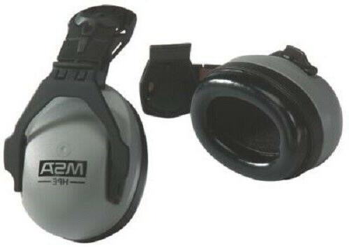 MSA 10061272 Mounted HPE Ear Muffs - 27dB Noise Reduction - NEW