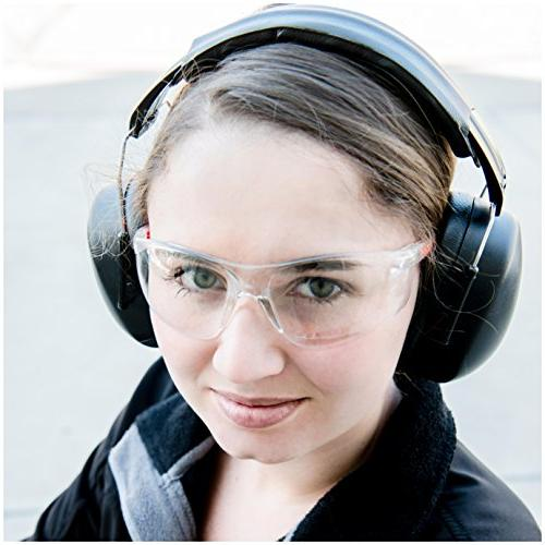 ClearArmor Protection Folding-Padded Band Ear Cups,