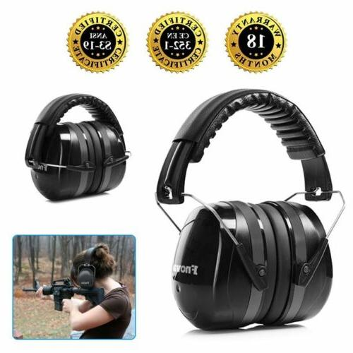2019 safety sound impact ear muffs hearing