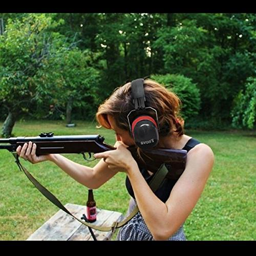 Fnova NRR Professional Defenders for Shooting, Ear Adults Kids