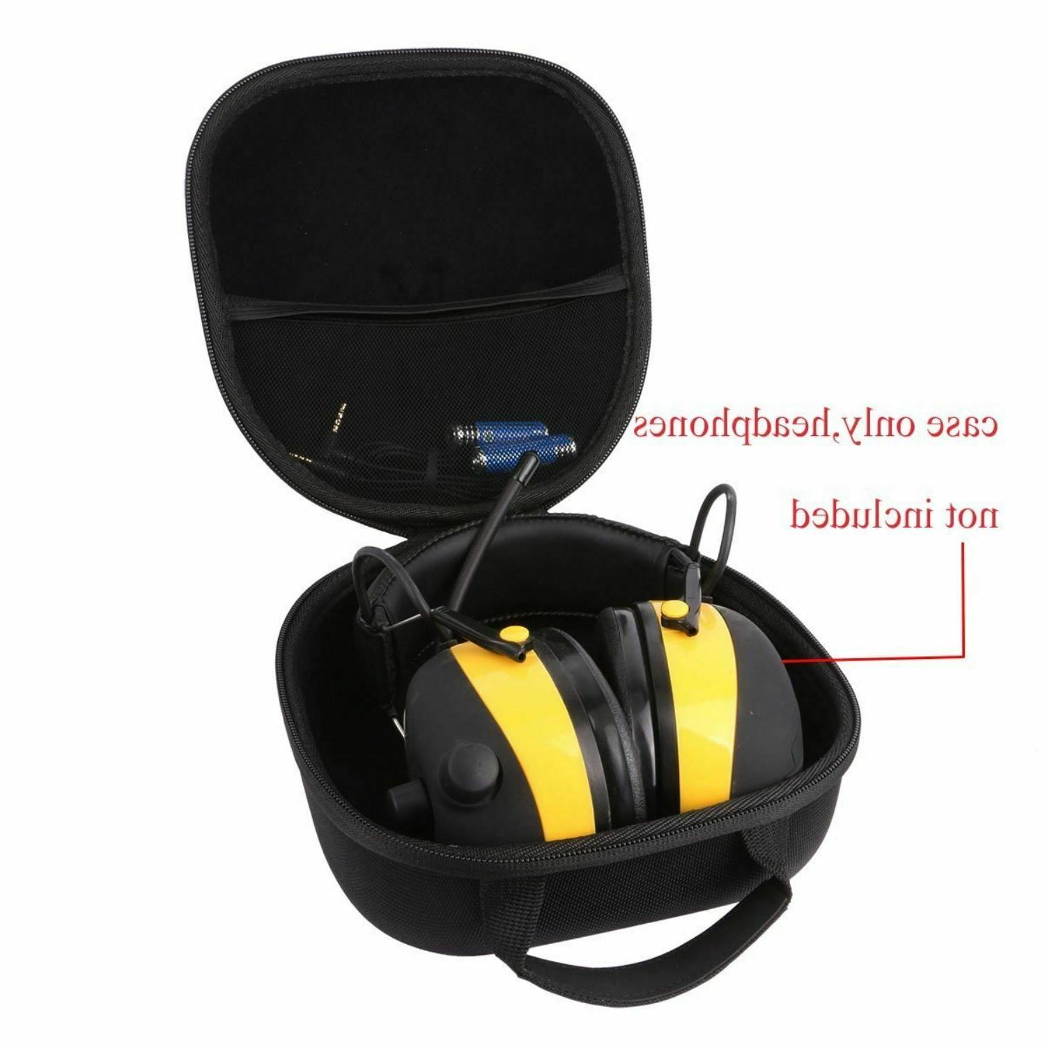 Protector Technology Earmuff Hard Case Fits 3M Shockproof He