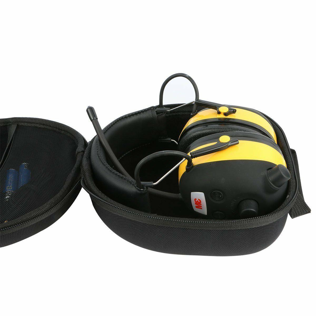 3M WorkTunes Hearing Protector Bluetooth Technology Hard Case