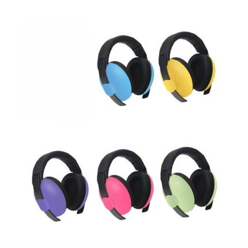 Adjustable Baby Protection Earmuffs Airplane Cancelling Headphone