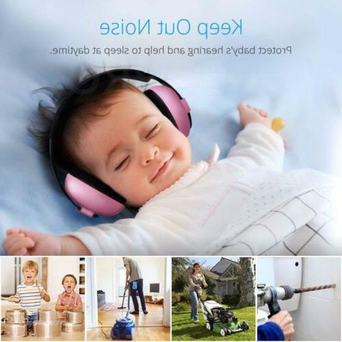 Adjustable Kids Baby Ear Protection Earmuffs Cancelling Headphone