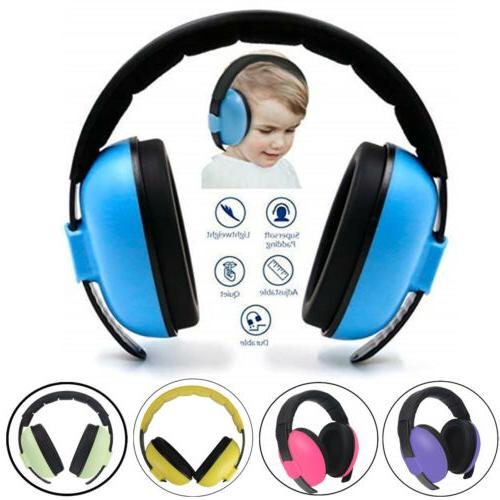 Adjustable Kids Baby Ear Protection Earmuffs Airplane Noise