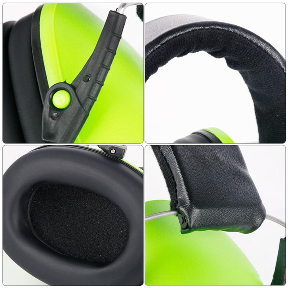 Anti-Noise Ear Protector Adjustable Head Ears Protectors For Work <font><b>Hearing</b></font>