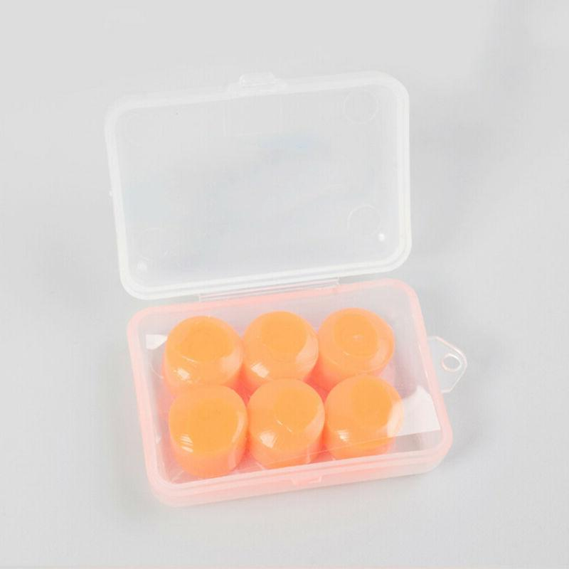 Anti-noise Swimming Soft Silicone Ear Plugs Waterproof