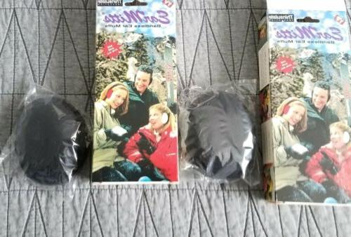 Ear Mitts Bandless Muffs Warmers One lot of 2