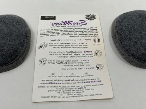 Ear Mitts Bandless Insulated Ear Size, NEW!