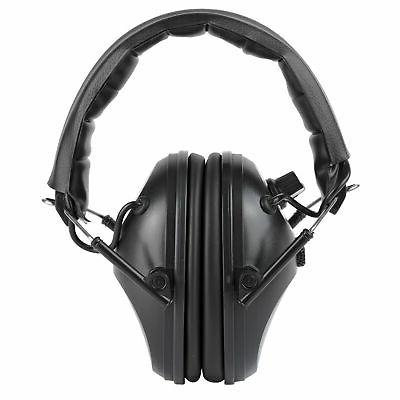 black earmuffs hearing protection shooting safety ear