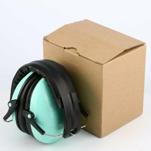 Blue Ear Muffs Construction Shooting Noise Reduction Safety