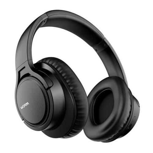 bluetooth headphone hifi stereo headset noise cancelling