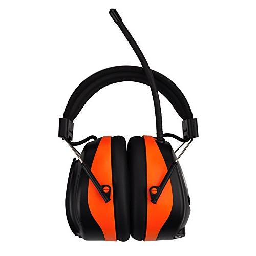 PROTEAR Wireless Cancelling Headphones, AM/FM Safety Earmuffs NRR Ear Protector, with