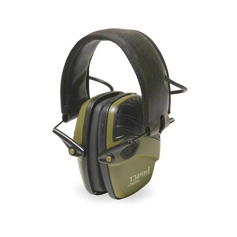 Howard Leight R-01526 Impact Sport Electronic Green