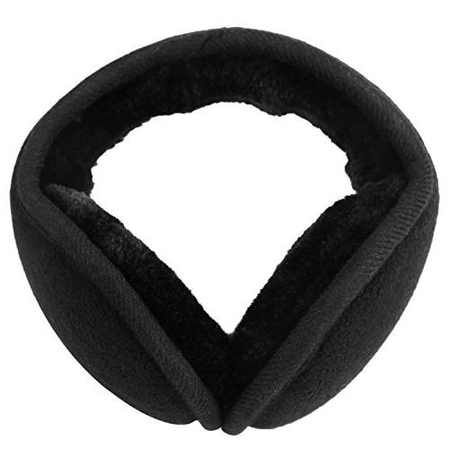 classic fleece ear muffs collapsible