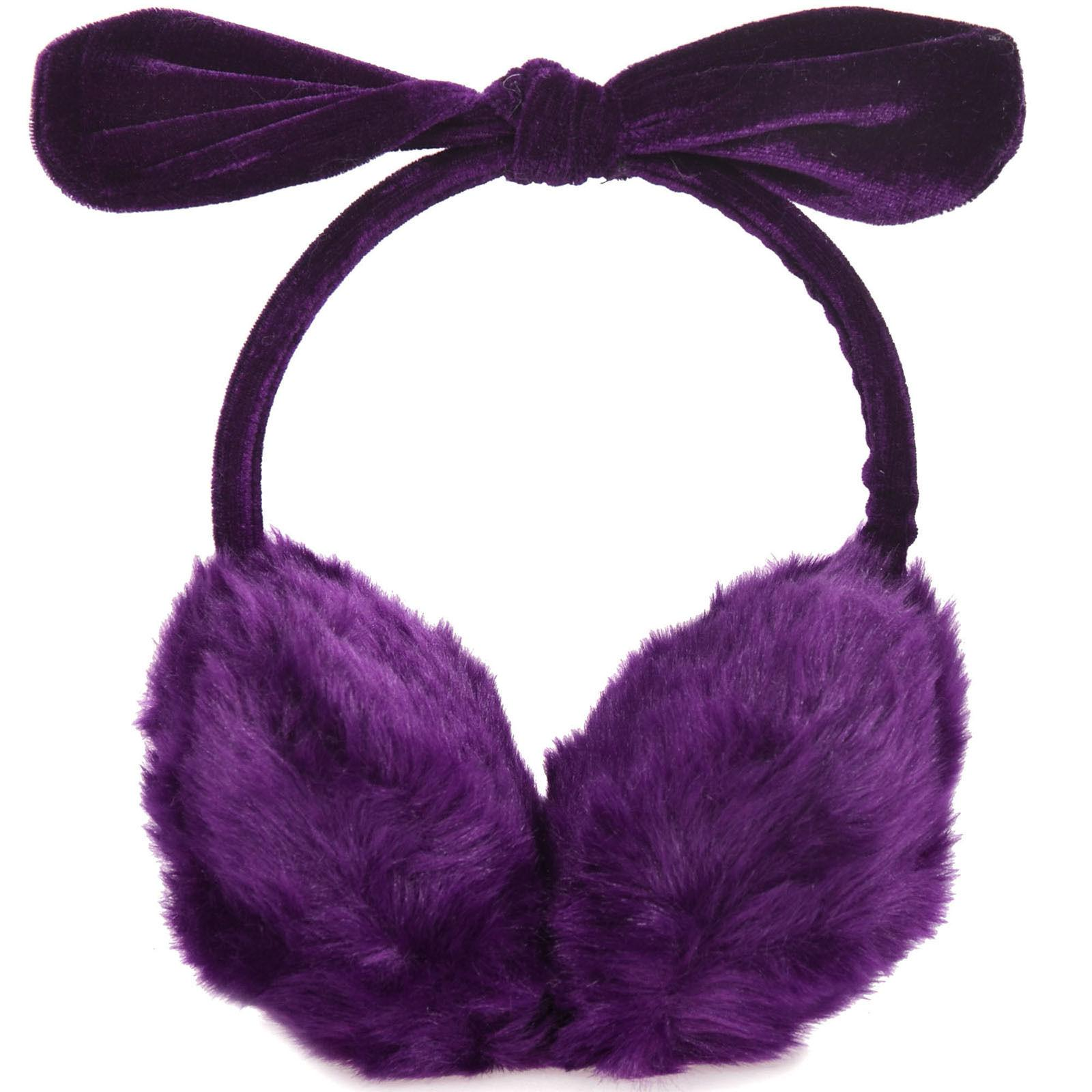 women s faux fur rabbit ear fleece