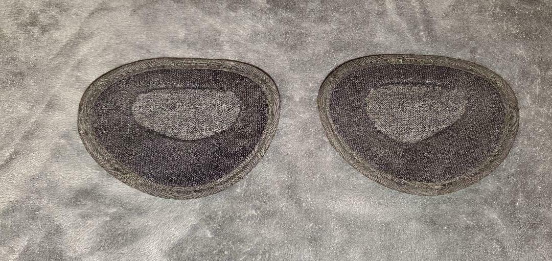EAR MITTS MUFFS 1 - CHARCOAL GRAY