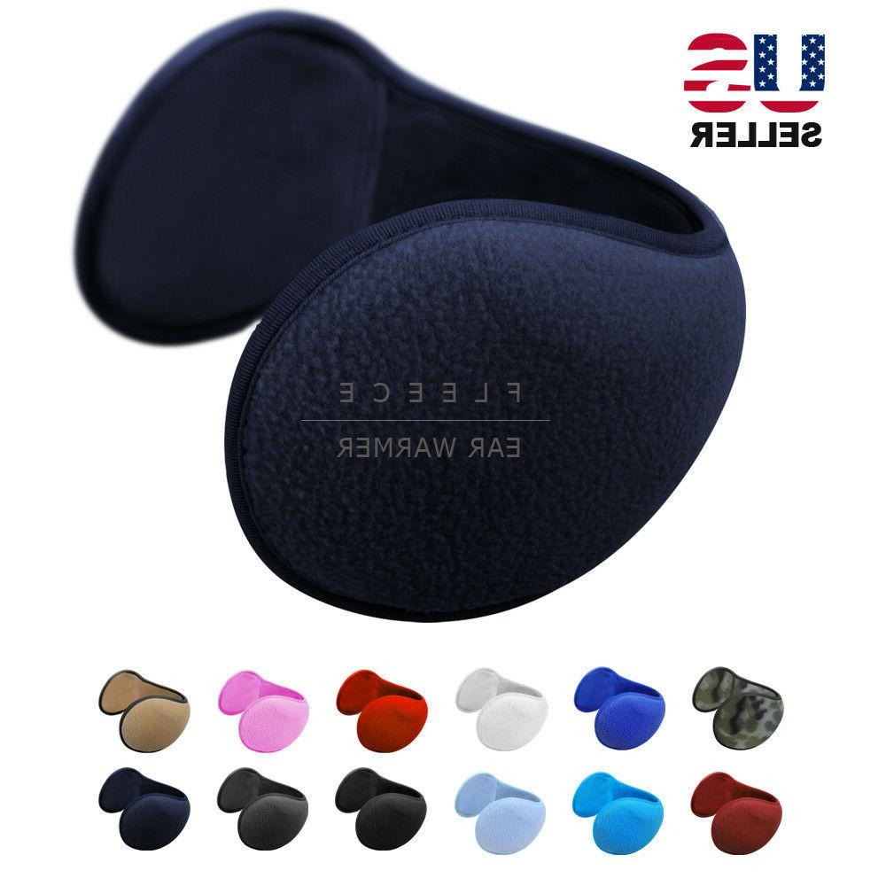 ear muffs fleece earwarmer winter ear warmers