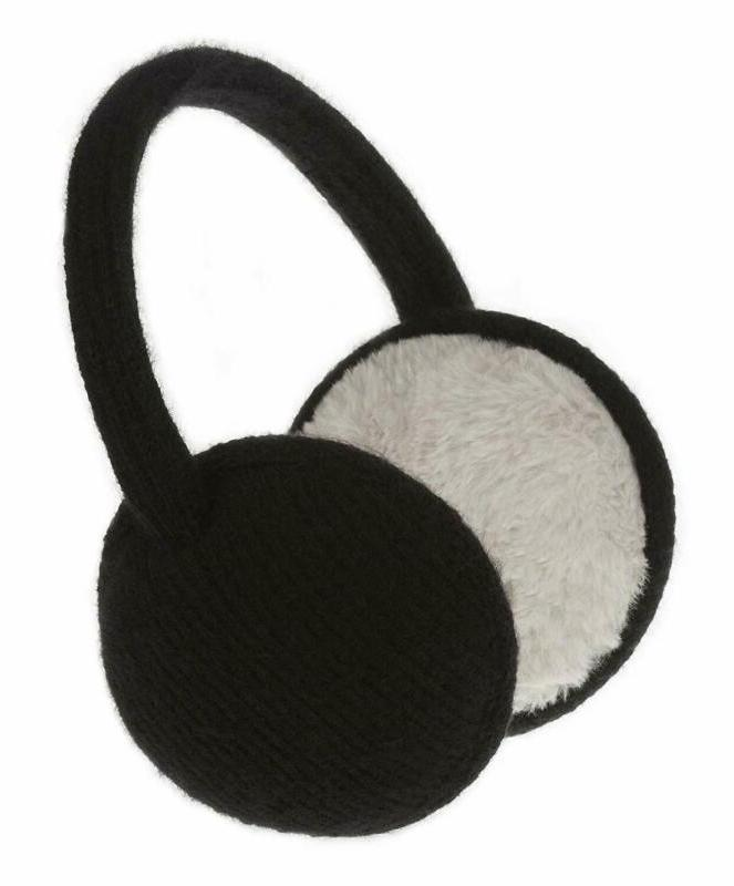 unisex classic knit earmuffs foldable ear muffs