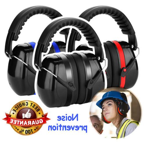 ear muffs hearing foldable noise reduction 34db