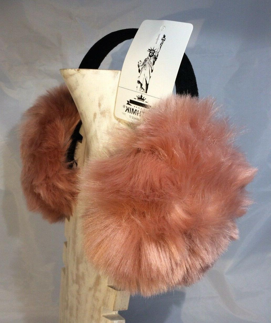 Lethmik Ear Muffs Peach Faux One
