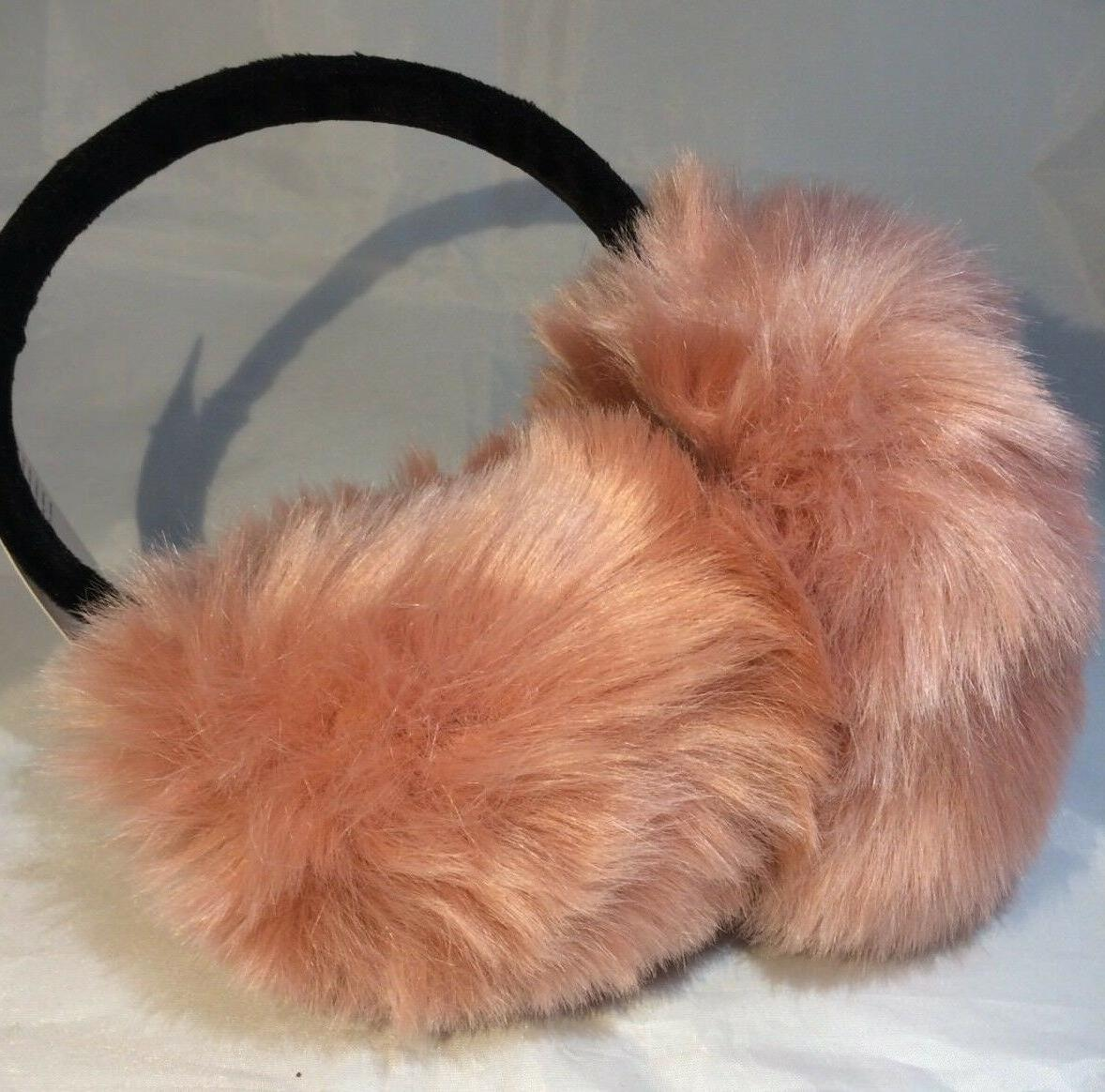 Lethmik Muffs Peach Faux One Size