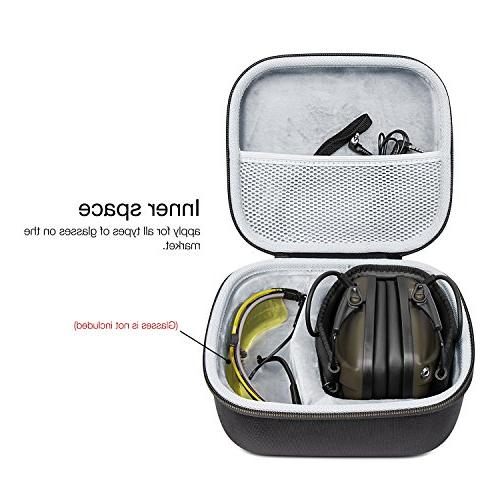 Awesafe Ear Shooting Electronic Hearing Protection Impact Sport , Safety Ear NRR Ideal Shooters