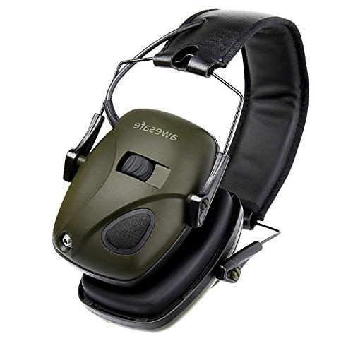Awesafe Ear Shooting Electronic Hearing Protection , Ear Muffs, NRR for Shooters Hunti