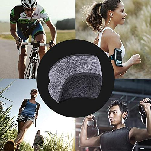 Headband Ear Warmer Headband Sports Slip Earmuff For Women Fleece Ear Muffs For Cycling Riding