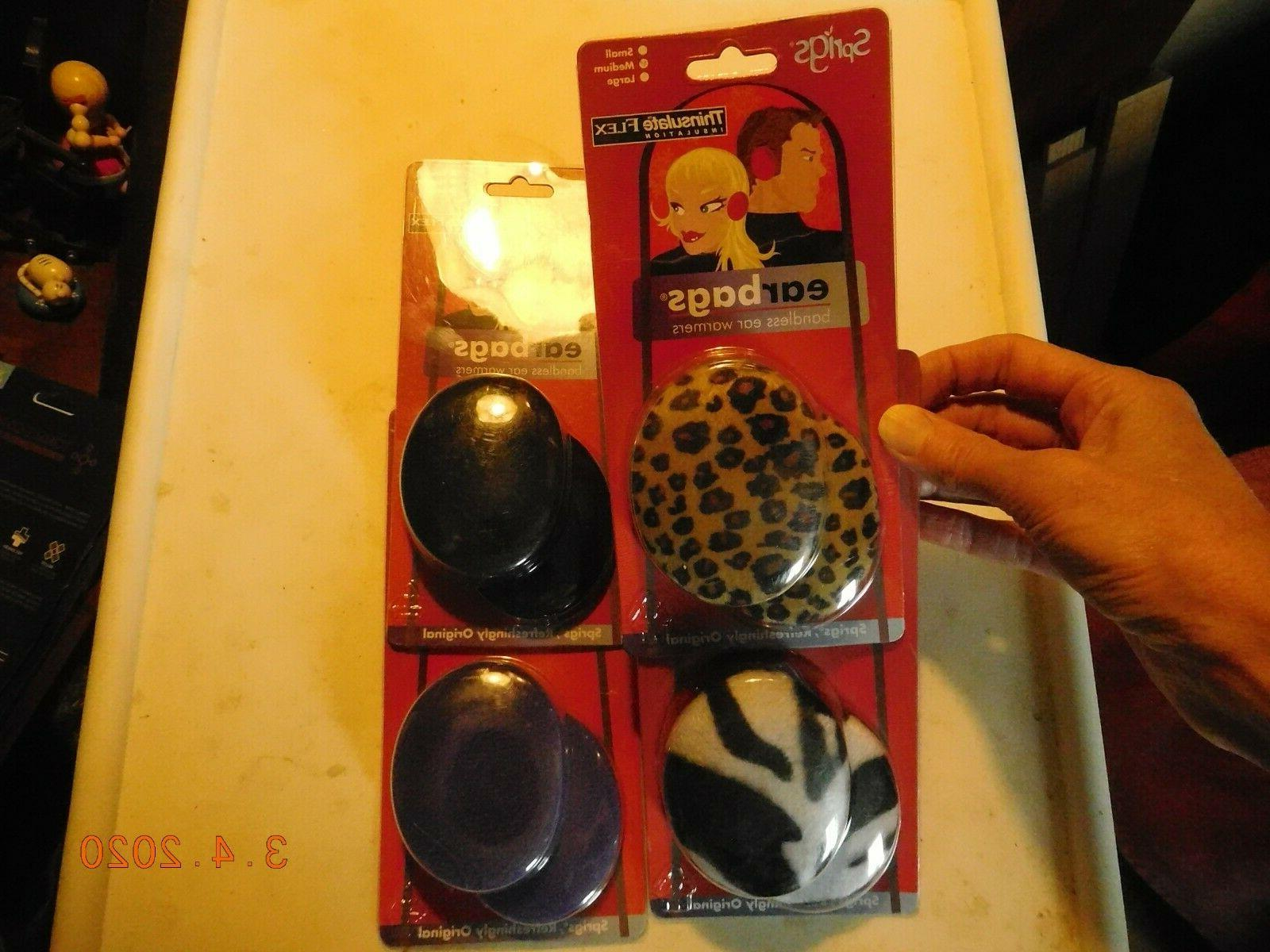 earbags bandless ear warmers by size medium