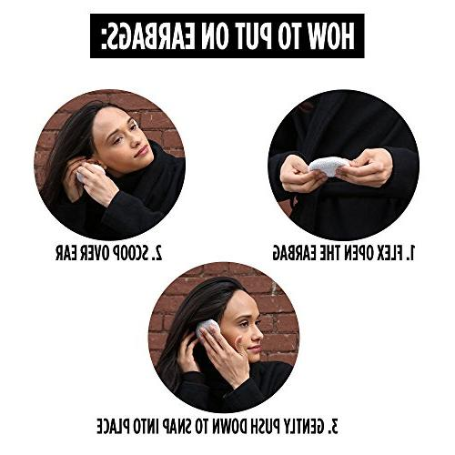 Sprigs Earbags Warmers/Fleece Earmuffs with Thinsulate -