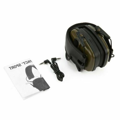 Electronic Defenders Leight Impact Earmuffs Protection