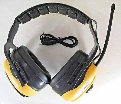 electronic earmuffs with fm radio and mp3