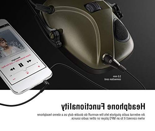 New Electronic Earmuff, Awesafe GF01 Sound Amplification Ear NRR dB, Ideal for