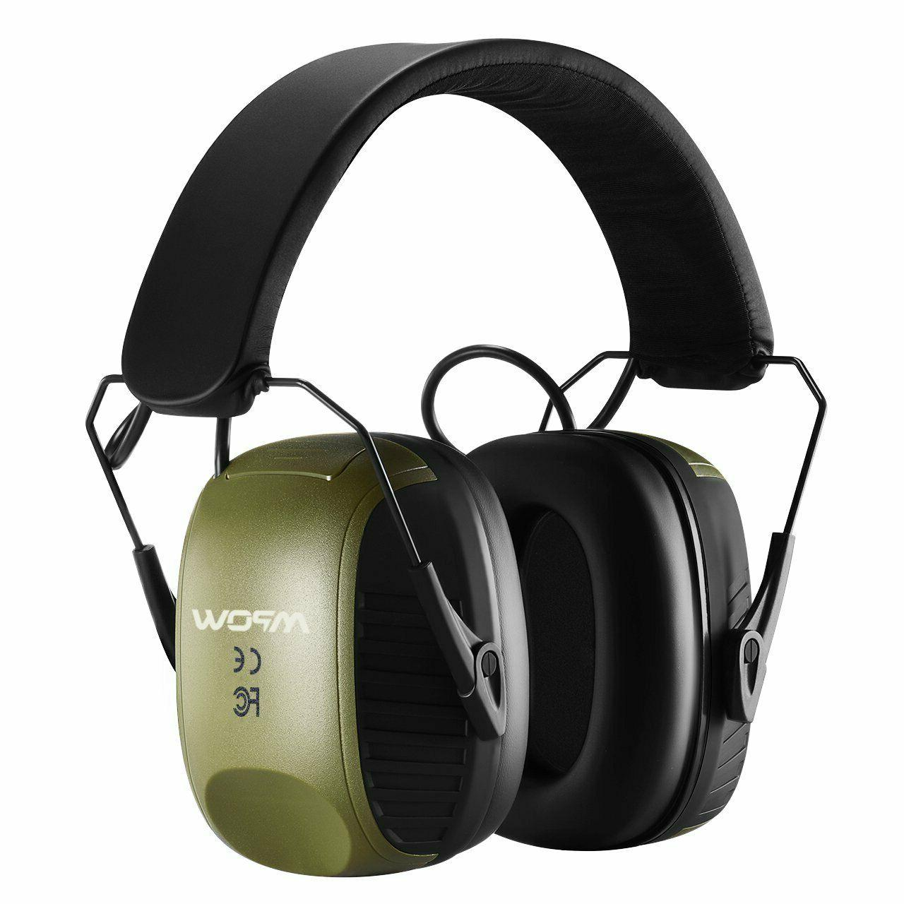 electronic shooting earmuffs sound amplification active nois