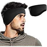 WMINHUI Fleece Ear Warmers/Muffs Headband for Men & Women &