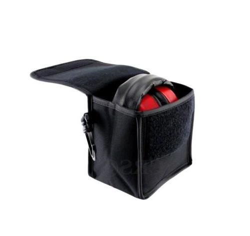 Titus Earmuff Carrying Case Storage Shooting Hearing Protection