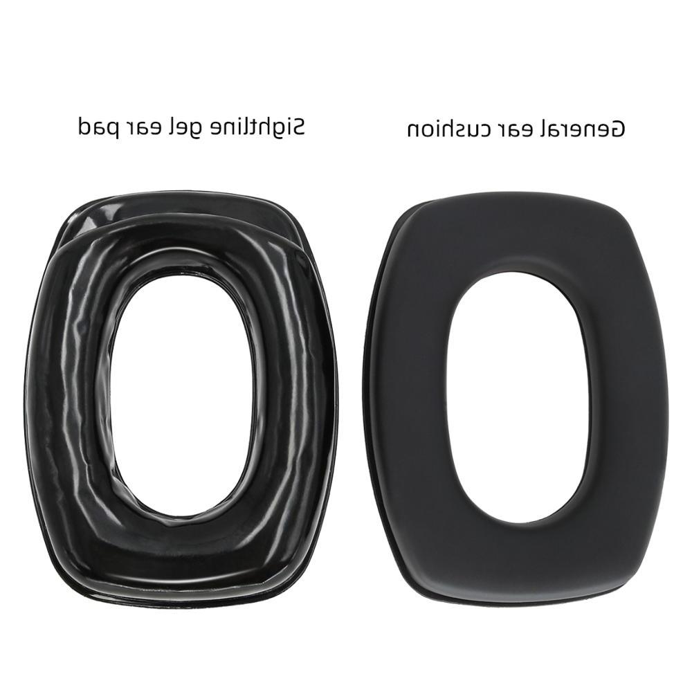 Gel Ear For <font><b>Leight</b></font> Impact Sport Tactical Hunting protection Headset