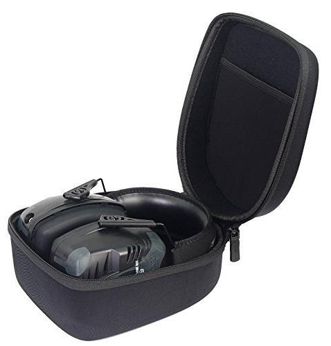 caseling Fits Howard Impact Pro Sound Electronic Shooting Earmuff - Includes Mesh Accessories.