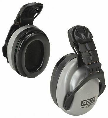 hard hat mounted ear muffs 27db noise