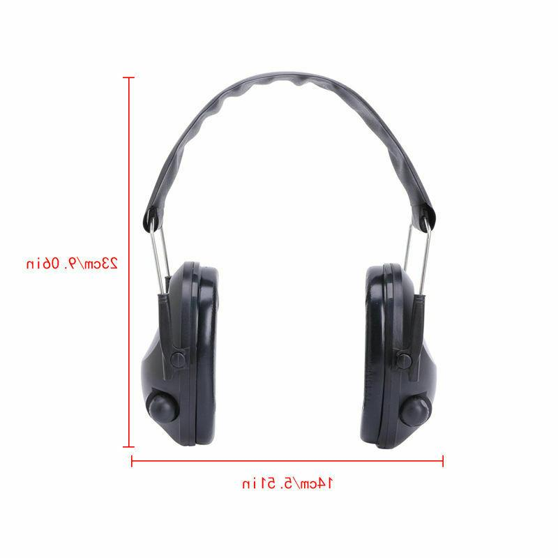 Headset Noise Canceling Electronic Ear Muffs Shooting