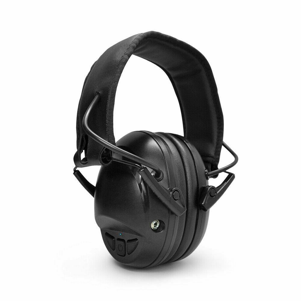 hearing protection sport electronic bluetooth ear muffs