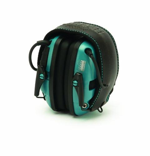 Teal Impact Sport Amplification Electronic Clear Safety