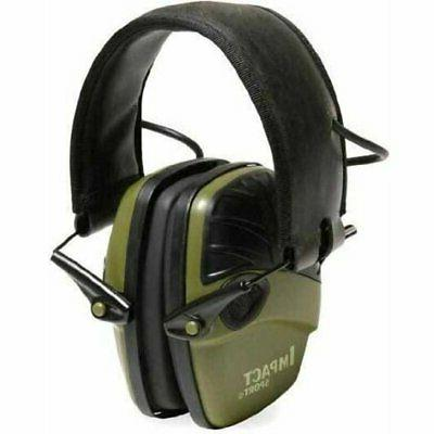 impact sport electronic hearing protection earmuffs r