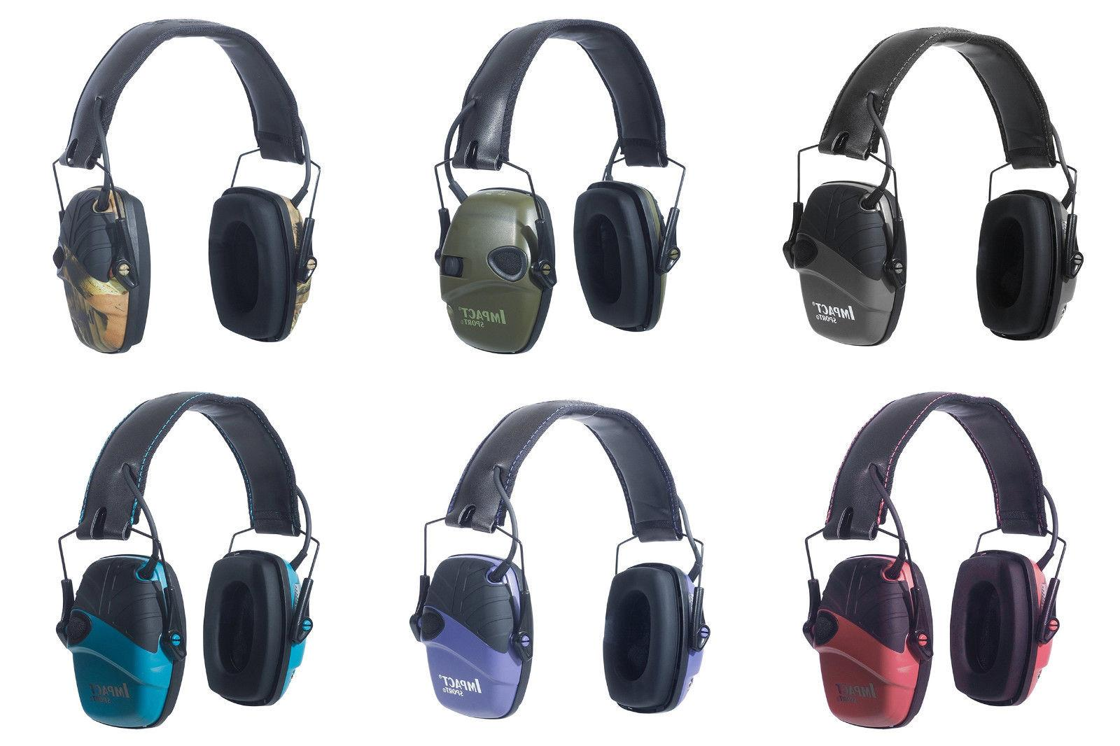 impact sport sound amplification electronic earmuffs 6