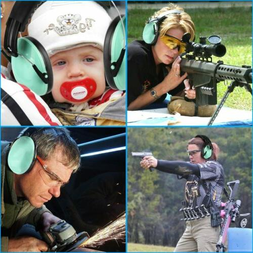 kids and adults hearing protection ear muffs
