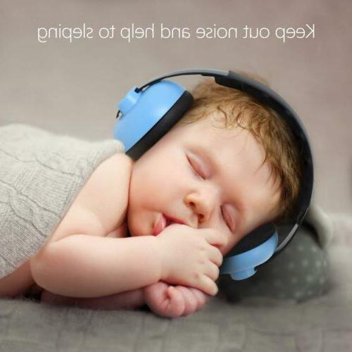 Outdoor Earmuffs Airplane Noise Headphone Baby