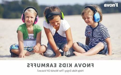 Kids Safety Ear Noise Cancelling Headphone For Children
