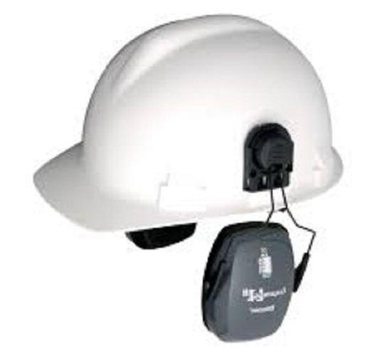 Bilsom L1 HardHat Mounted Ear Muffs Attached Helmet Hearing
