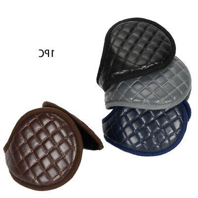 Ear Adults Plush Leather Foldable Adjustable Protection